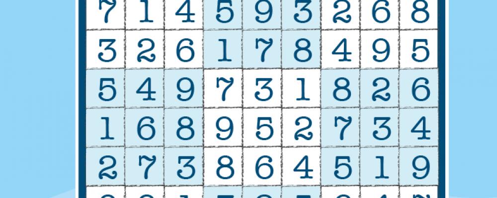 Sudoku débutant
